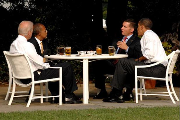 beer gates obama brown adrain brown yeast
